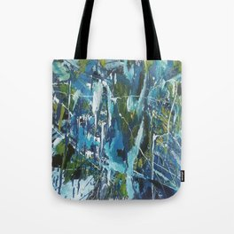 Abstract Paint Oil Tote Bag