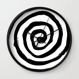 Burtonesque Pop Swirl Wall Clock