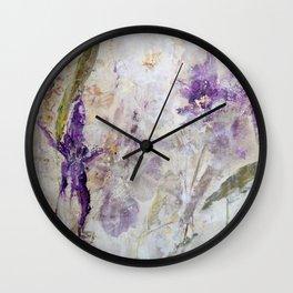 Orchid Light Wall Clock