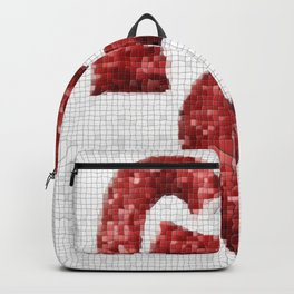 Broken Heart Mosaic Backpack