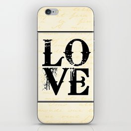 All We Need is Love iPhone Skin