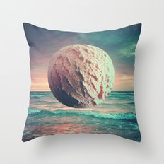 Iced Sun Throw Pillow
