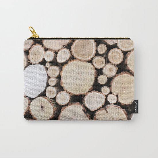 Woodpile Carry-All Pouch