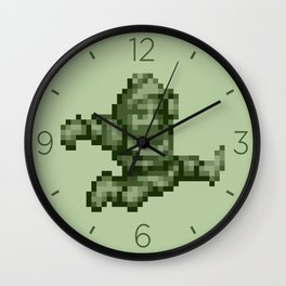 Ghosts n Goblins Sir Arthur monochrome Wall Clock