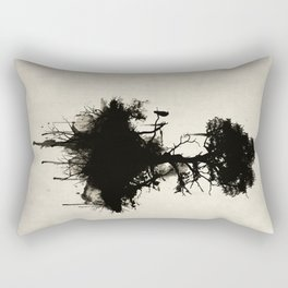 Last Tree Standing Rectangular Pillow