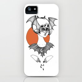 batty witch iPhone Case