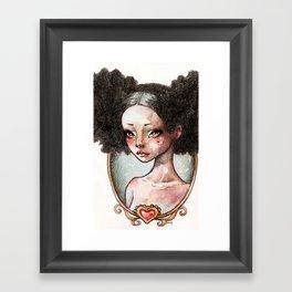 Sweet Ebony Framed Art Print