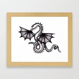 dragon city Framed Art Print