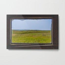 View from the Yellow House, Arena, North Dakota 2 Metal Print