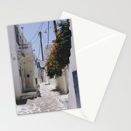 Aegean Streets Stationery Cards