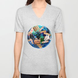 Love to Heal the Earth Unisex V-Neck
