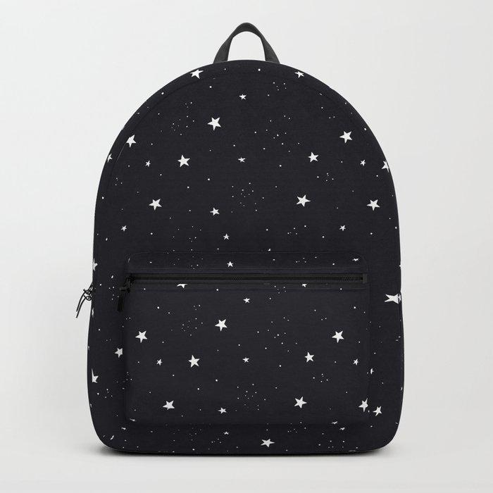 stars pattern Rucksack