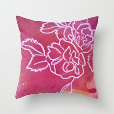 Floral No.32 Throw Pillow