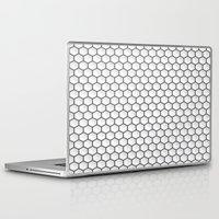 hexagon Laptop & iPad Skins featuring Design Hexagon by ArtSchool