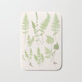 Ferns #1 Bath Mat