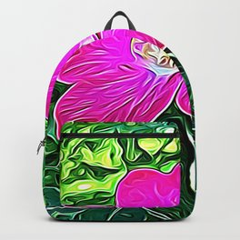 Magenta Flower of Harmony Backpack