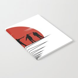 Zombie Controol (Moon headshot) Notebook