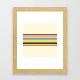 Classic Retro Govannon Framed Art Print