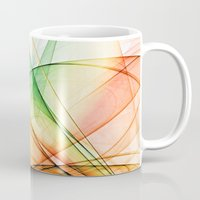 tequila Mugs featuring tequila sunrise by Maureen Popdan