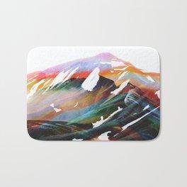 Abstract Mountains II Bath Mat