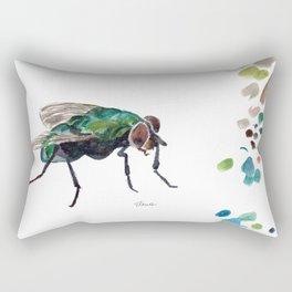 The Fly Rectangular Pillow