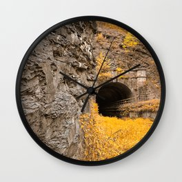 Paw Paw Tunnel - Golden Age Nostalgia Wall Clock