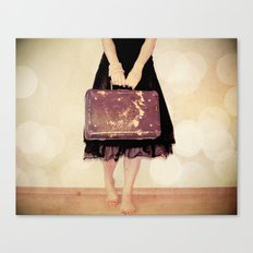 Bon Voyage Mademoiselle Canvas Print