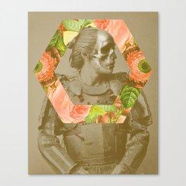 Botanical Samurai Canvas Print