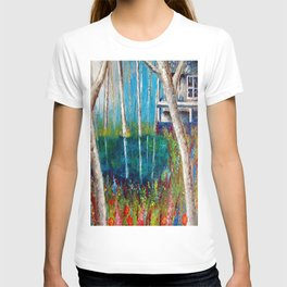 Little house by the lake T-shirt