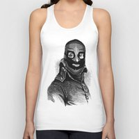 wrestling Tank Tops featuring Wrestling mask 3 by DIVIDUS