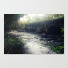 Dusk and Decay Canvas Print