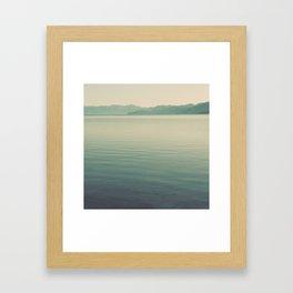 The Calm Framed Art Print