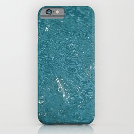 Turquoise Summer Water Pool iPhone Case