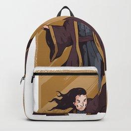Zauberer Pentagram Backpack