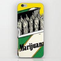 marijuana iPhone & iPod Skins featuring Mainstream Marijuana by Kelsey Dake
