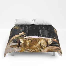 The Death Of Cleopatra Comforters
