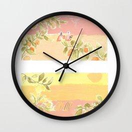 Sunrise Lovers Wall Clock
