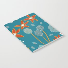 Happy Flowers Collection Notebook