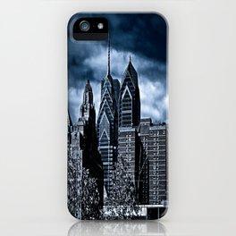 the dark city iPhone Case