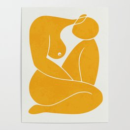 Day dream nude minimal Poster