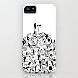 Pupper Pile iPhone Case