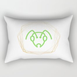 Ant Head Rectangular Pillow