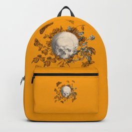 FLORAL SKULL and BUTTERFLIES Backpack