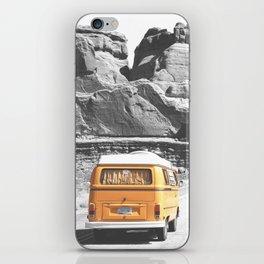 Road Trip Combi iPhone Skin