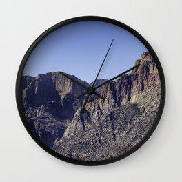 Red Rock Wall Clock