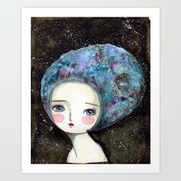 The Muse Of The Universe Art Print