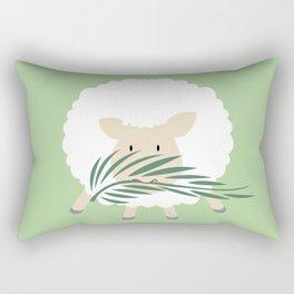 Palm Sunday Lamb Of God Rectangular Pillow