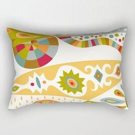 Bohemian buff Rectangular Pillow