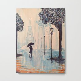 Last Night In Paris  Metal Print