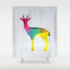 Glass Animal Series - Gazelle Shower Curtain